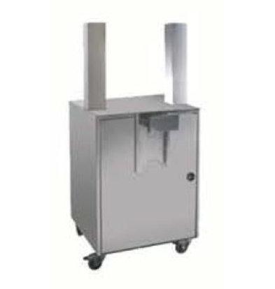 Zumoval Self Service Tray   Zumoval Untergestell mit Tray für Basic, BigBasic, Top und FastTop