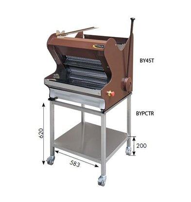 Sofinor Brotschneidemaschine Braun Tischmodell   Semi-Automatisch   Einfuhr Oberseite   490W