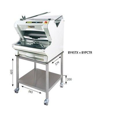 Sofinor Brotschneidemaschine Weiß Tischmodell   Automatisch   Einfuhr Oberseite   550W