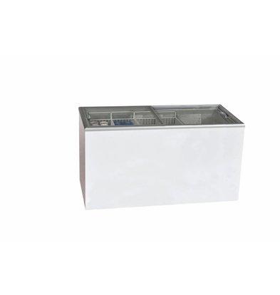 Elcold Tiefkühltruhe mit Flachen Schiebefenstern | NOVA 61 | 174,3x69,3x(h)84,5cm