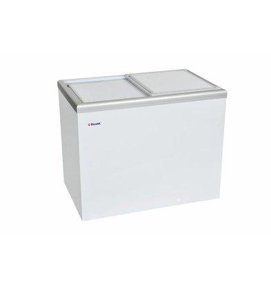Elcold Tiefkühltruhe mit Isoliertem Schiebedeckel | Elcold CAL 35 | 349 Liter | 105,4x65,4x(h)92 cm