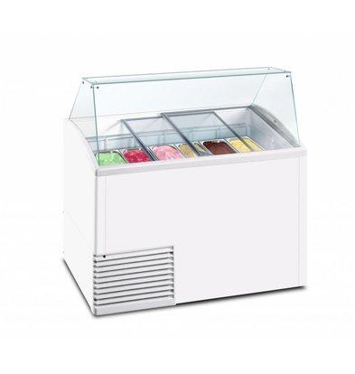 Framec Eistheke SLANT 510 ICE | Framec | 10x 5 Liter | 134,1x72,5x(h)123,5cm