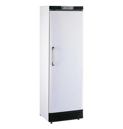 Kleo Kühlschrank mit Massivtür | LED Beleuchtung | Weiß | 59x61x(h)188,5cm | Erhältlich in 2 Varianten