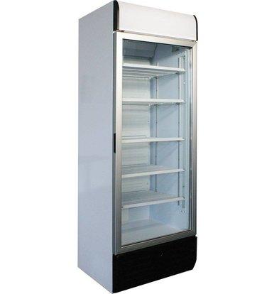 Kleo Display Getränkekühlschrank | Glastür | LED Beleuchtung | Weiß | 71x61x(h)213,5cm | Erhältlich in 2 Varianten