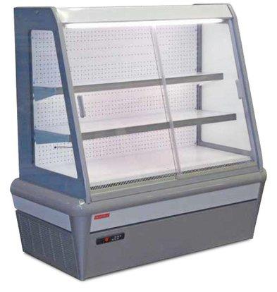 Oscartielle Wandkühlregal EAGLE H125 | Mit Schiebefenster | Erhältlich in 4 Größen