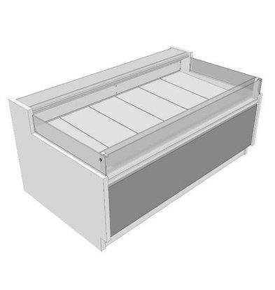 Oscartielle Kühltheke ZARA2 VENT GI | Selbstbedienung | Erhältlich in 6 Größen