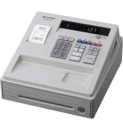 Sharp Sharp Kasse XE-A137WH | Thermodrucker (KEINE TINTE ERFORDERLICH) | 200 Produkte | 8 Produktgruppen