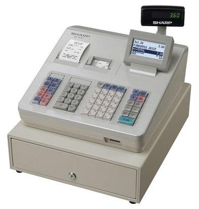 Sharp Sharp Kasse XE-A307 | Thermodrucker (KEINE TINTE ERFORDERLICH) | 10.000 Produkte | 99 Produktgruppen