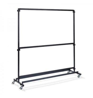 XXLselect Garderobeständer Bar 2m | Ohne Haken | 1920x600x2000(h)mm