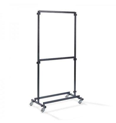 XXLselect Garderobeständer Bar 1m | Ohne Haken | 1000x600x2000(h)mm