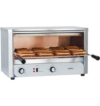 Casselin Quarz-Salamander-Toaster | In 3 Stufen einstellbar 2200W | 680x500x (H) 400 mm