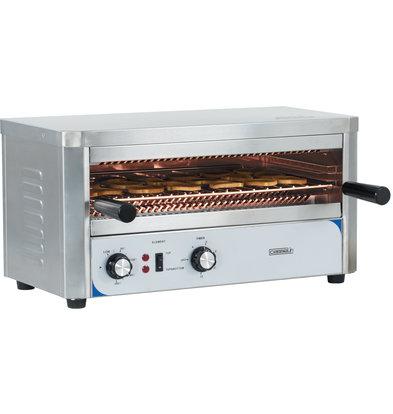Casselin Quarz-Salamander-Toaster | In 2 Stufen einstellbar 2200W | 578 x 420 x (H) 300 mm