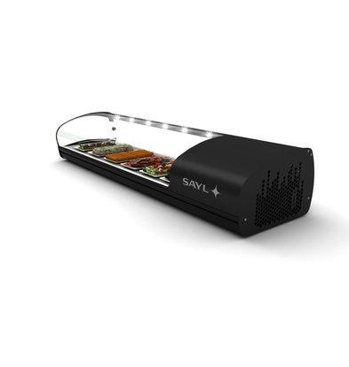 SAYL Display Tapas Kühlvitrine | Geeignet für GN 1 / 3GN 40mm | Verfügbar in 2 Größen