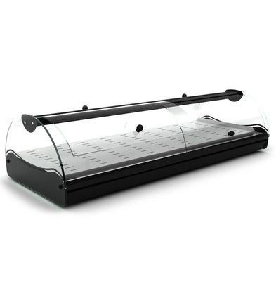 SAYL Wärmevitrine für Selbstbedienung | Geeignet für 1 / 3GN 40mm | LED Beleuchtung | Verfügbar in 2 Größen