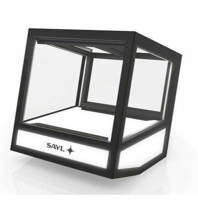 SAYL Cube Kühlvitrine | Geeignet für 20 Flaschen | 620x670x670mm | Verfügbar in 3 Varianten