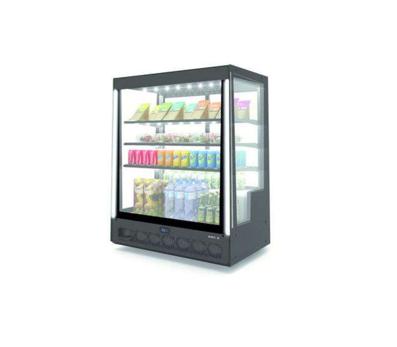 SAYL Display Kühlvitrine | Zugang von vorne | 1015x620x (H) 1240 mm