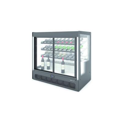 SAYL Weinkühlschränke | Öffnung hinten und vorne | 1015x620x (H) 950 mm
