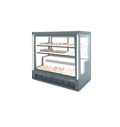 SAYL Kühlvitrine Tischmodell | Öffnung hinten | 1015x620x (H) 950 mm