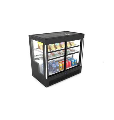 SAYL Kühlvitrine Tischmodell | Öffnung hinten und vorne | 1015x620x (H) 950 mm