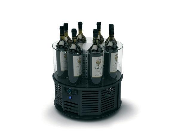 SAYL Alegria Weinkühler | Geeignet für 8 Flaschen von 90 mm | 435x435x (H) 370mm | Erhältlich in 2 Modellen