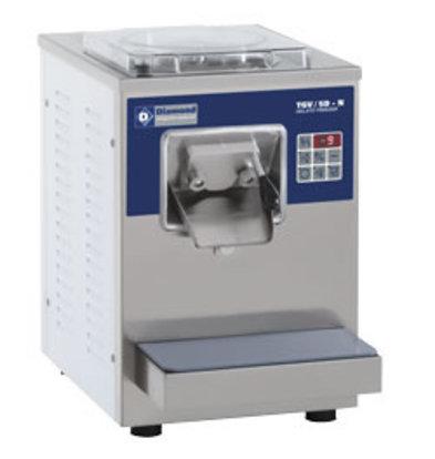 Diamond Eismaschine   Tischmodell   9/12 Liter/St.   Luftkondensator   410 x 510 x (H) 590 mm