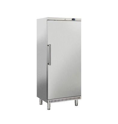 Combisteel Bäckerei-Gefrierschrank Edelstahl + ABS | 265 Liter | Geeignet für 600x400mm | 740 x 680 x (H) 1800 mm