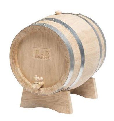 Bar Professional Holzfaß mit Auslaufhahn | 10 liter