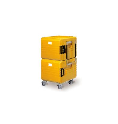 Rieber Thermoport Maxi K 2x6000K Unbeheizt   2x 104 Liter   8x GN 1/1 200mm   766x779x1280mm   Erhältlich in 2 Farben