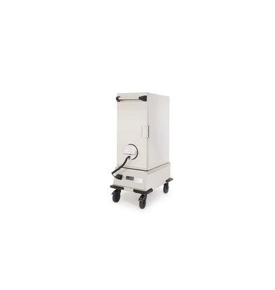 Rieber Thermoport 2000 K Gekühlter Ausgabewagen   Geignet für GN 1/1 200mm   492x769x1278mm   Erhältlich in 2 Varianten