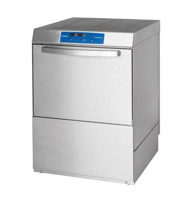 XXLselect Power Geschirrspüler | DIGITAL | 50x50cm | Klarspül- + Dosierpumpen +Ablauf- und Wasserdruckpumpe | 400V