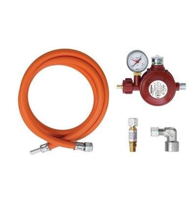 Bartscher Anschluss-Set,Innen-und Außenbereich für Gasfrill