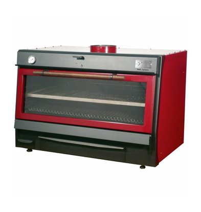 Diamond Holzkohleofen-Grill | GN2/1 +GN1/1 | 150kg/St | 1200x733(1176)xh870mm | In 2 Farben