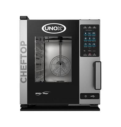 Unox Unox Cheftop Mindplus Digital | XECC-0523-EPR | 5x GN2/3 | 400V/5200W | 660x540x(H)650mm