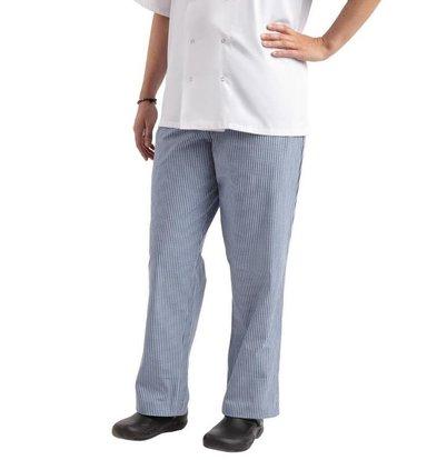 Chef Works Chef Works Unisex Kochhose Easyfit | Blau-Weiß kariert | Erhältlich in 6 Größen