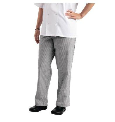Chef Works Chef Works Unisex Kochhose Easyfit | Schwarz-Weiß kariert | Erhältlich in 6 Größen