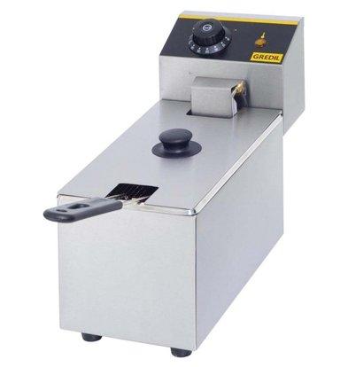 Gredil Fritteuse   Tischmodell   3,5 Liter   (h) 270 mm (t) 420 mm (B) 170 mm