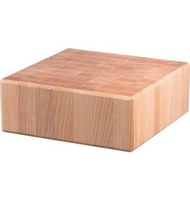 Stalgast Hackblock | Holz | (l) 400x (t) 400x (h) 150 mm