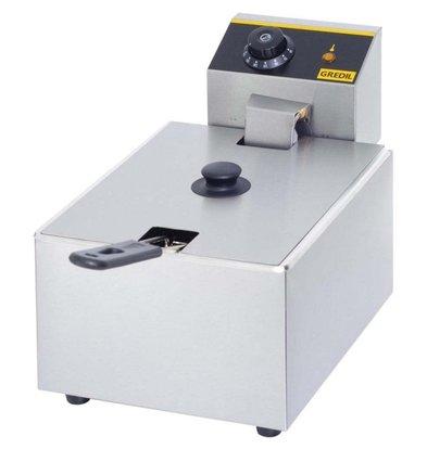 Gredil Fritteuse   5 Liter   (h) 270 mm (t) 420 mm (B) 260 mm