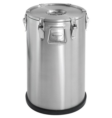 Stalgast Thermo Transportbehälter Edelstahl | 20 Liter | (Ø) 288 mm (h) 530 mm