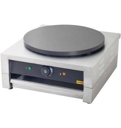 Gredil Elektrischer Crêpes-Gerät | 15 kg | (h) 240 mm (t) 450 mm (B) 450 mm
