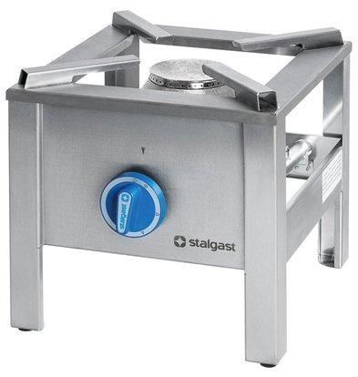 Stalgast Gas-Hockerkocher | 5kW | (h) 340 mm (t) 398 mm (B) 340 mm