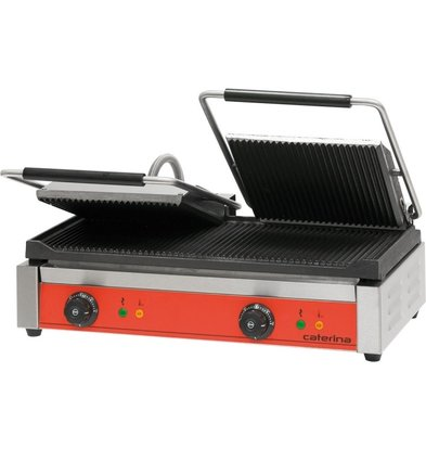 Caterina Doppelgrill | (h) 195 mm (t) 390 mm (B) 610 mm