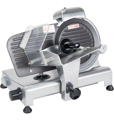 Stalgast Aufschnittmaschine | 220 mm | mit Teflonmesser | 14 kg | (h) 340 mm (t) 440 mm (B) 380 mm