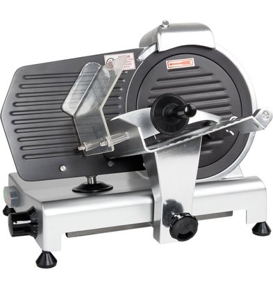 Stalgast Aufschnittmaschine   250 mm   mit Teflonmesser   16 kg   (h) 380 mm (t) 490 mm (B) 380 mm