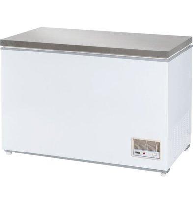 Stalgast Tiefkühltruhe mit Deckel | Edelstahl | 312 Liter | (h) 875 mm (T) 680 mm (B) 1220 mm