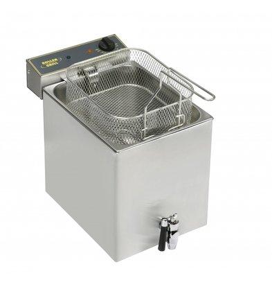 Roller Grill Fritteuse | Tischmodell | 12 Liter | 10Kg | 350x470x350mm(h)