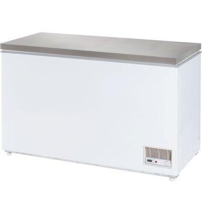 Stalgast Tiefkühltruhe | mit Deckel | Edelstahl | 390 Liter | 1330x685x875mm (h)