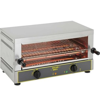 Roller Grill Toaster | 1 Ebene | 3,2 kW | 15 kg | 640x380x330mm (h)