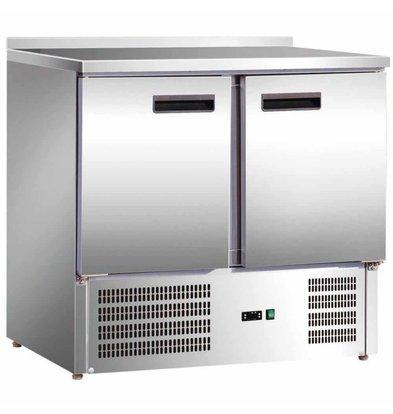 Stalgast Kühltisch   201 Liter   2 Türen   900x700x (H) 880mm