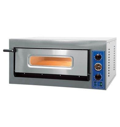 GGF Pizzaofen | X-Line | 4 Pizzas von 30cm | 4,2 kW | 900x735x (H) 420mm